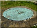 SO5868 : Sundial plate by Philip Halling