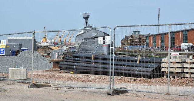 HMS Caroline, Belfast (May 2017)
