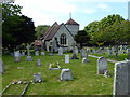 TV5597 : St Simon and St Jude Church, East Dean by PAUL FARMER