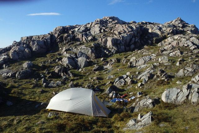 Tent, Brantrake Crags