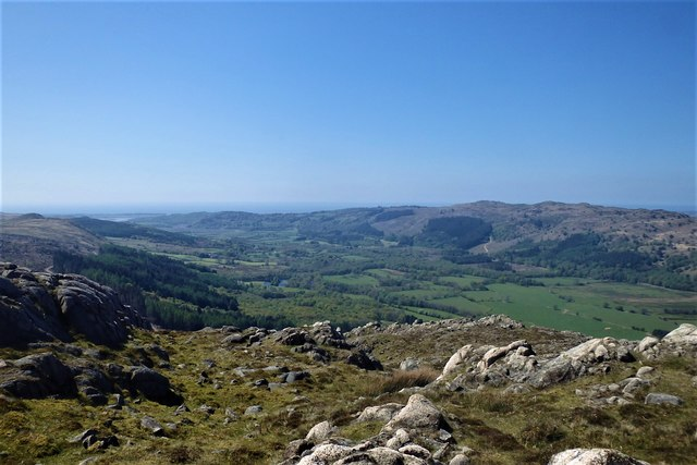On Brantrake Crags