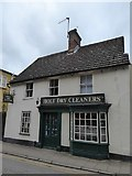 TG0738 : Dry cleaners in Church Street by Basher Eyre