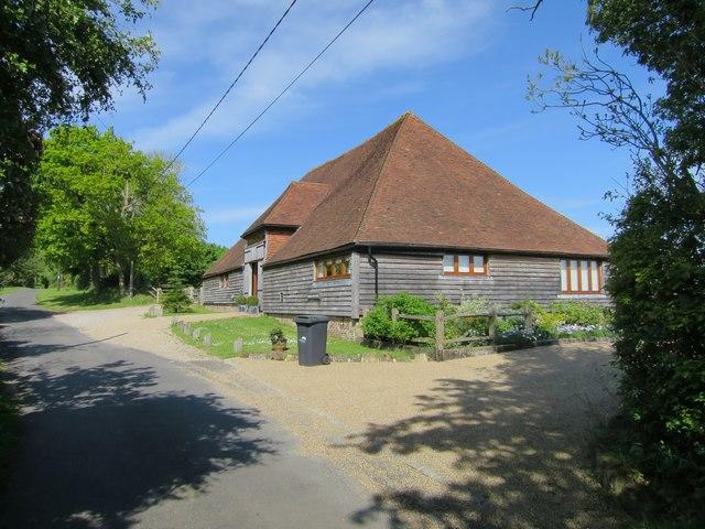 Converted barn at Iwood Farm
