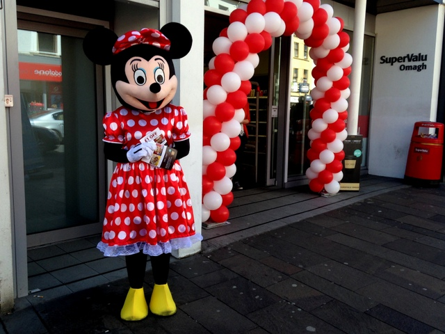 Minnie Mouse, Omagh