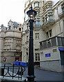 TQ3080 : Street lamp, Carting Lane by Stephen Richards