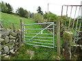 SE0427 : Gate on Halifax Bridleway 181 by Humphrey Bolton
