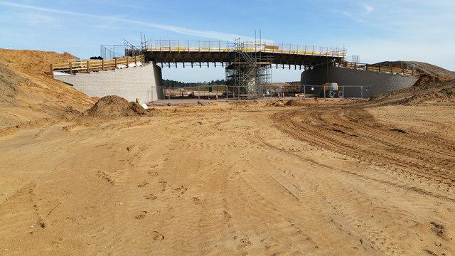 Bridge under construction over NDR (2)