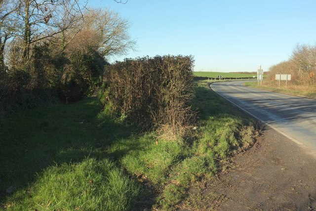 Bridleway by the A3072
