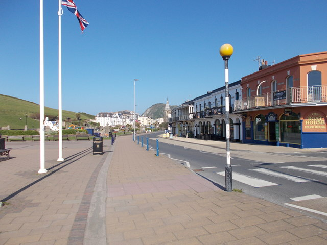 Wilder Road - viewed from The Promenade