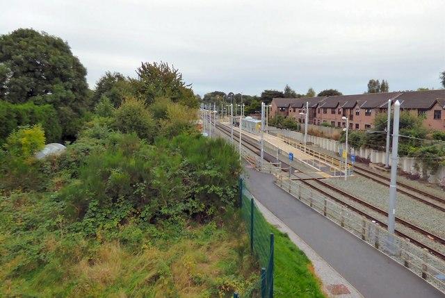 St Werburgh's Road Metrolink Tram Stop