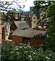 SK5804 : View from Leicester Castle Motte by Mat Fascione