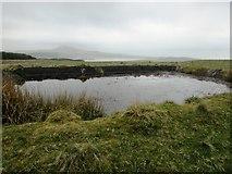 NO2004 : Water tank, Lomond Hills by Bill Kasman