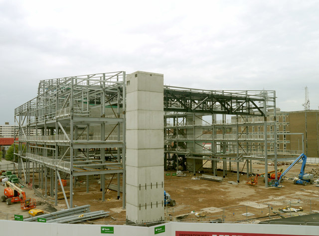 Hull Arena under construction