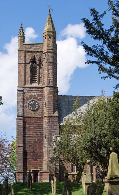 St Kentigern's Church, Aspatria - May 2017 (2)