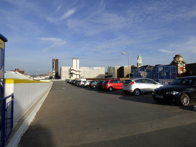 Merseyway Shopping Centre car park