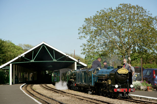'Hurricane' and 'Northern Chief' at Hythe