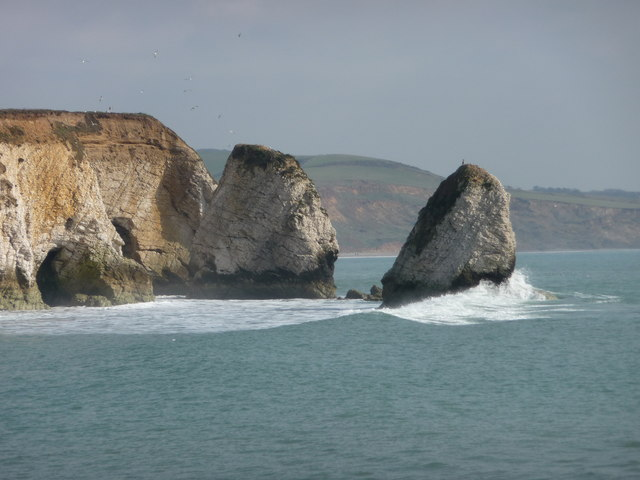 Freshwater Bay, Stag Rock and Mermaid Rock