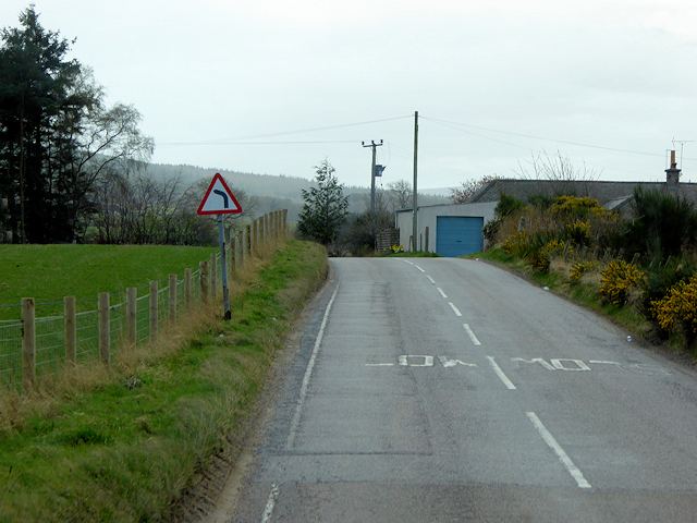 A939 South of Nairn