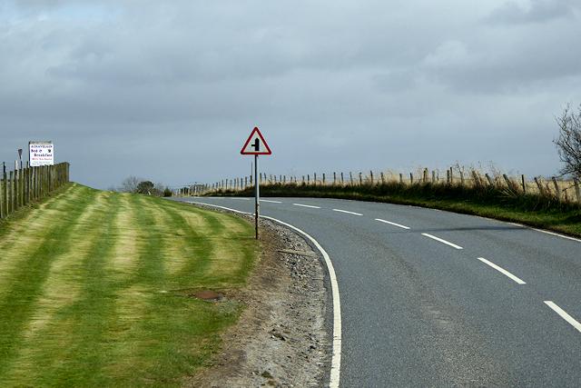 A939 near Littlemill
