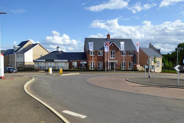 New housing development, Potton