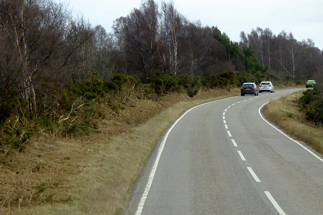 A939 South of Ferness