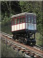 SX9265 : Car, Babbacombe Cliff Railway by Derek Harper