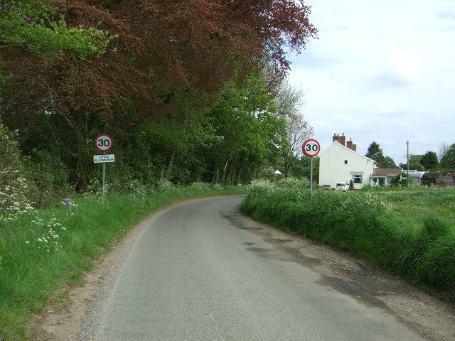 Entering Little Ellingham