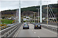 NH6647 : Kessock Bridge, A9 by David Dixon
