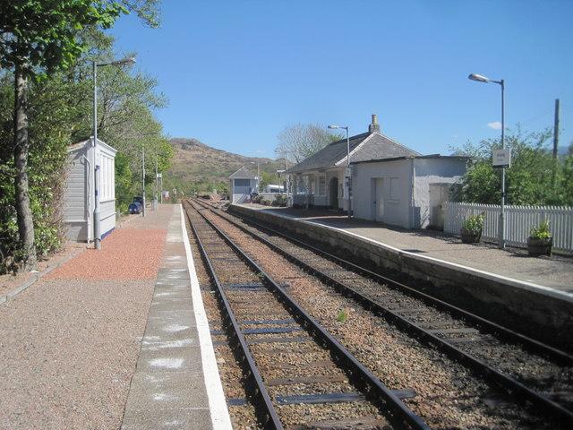Arisaig railway station, Highland