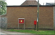 TM0099 : Elizabeth II postbox on The Green, Little Ellingham by JThomas