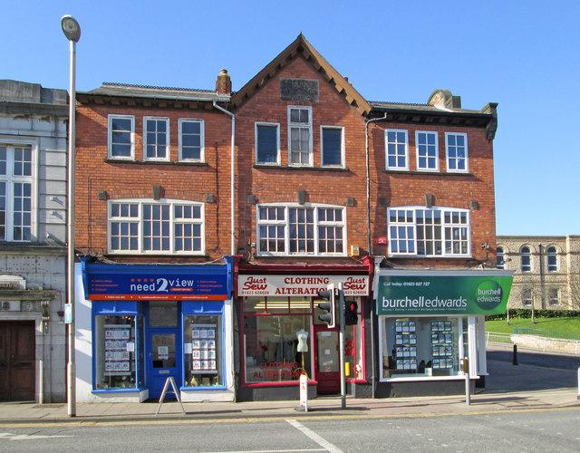 Mansfield - Albert Street Nos 12 to 16 - from NE