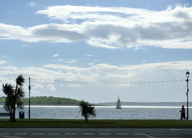 Largs promenade by Thomas Nugent