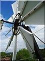 SP5805 : Fan tail at Wheatley Mill by John M