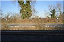 TQ0487 : Denham Station car park by N Chadwick