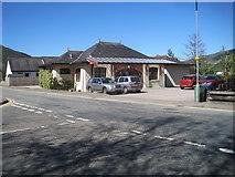 NN0858 : Ballachulish railway station (site), Highland by Nigel Thompson