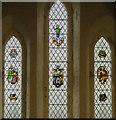 SK7894 : East window, St Peter's church, East Stockwith by Julian P Guffogg