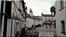 SD3598 : Into the Square, Hawkshead by Chris Brown