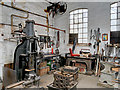 SK2625 : Blacksmith's Forge at Claymills Pumping Station by David Dixon