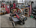 SK2625 : Portable Pump at Claymills Workshop by David Dixon