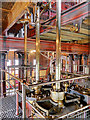 SK2625 : Packing Platform, CD Engine House at Claymills Victorian Pumping Station by David Dixon