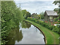 SK2526 : Trent and Mersey Canal at Stretton by David Dixon