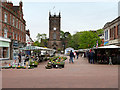SK2422 : Market Square, Burton on Trent by David Dixon