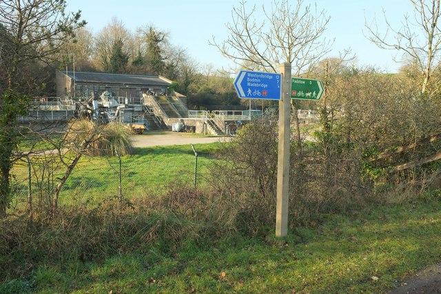 Wadebridge sewage works