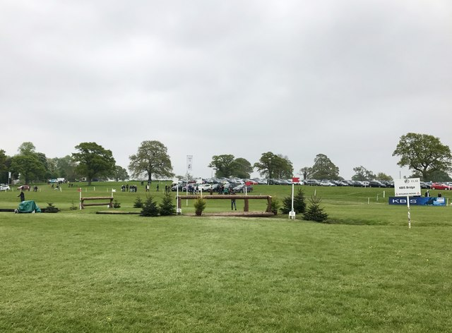 Badminton Horse Trials 2017: cross-country fences 11 and 12 - KBIS Bridge