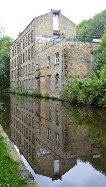 Denholme Mill in Luddenden Foot