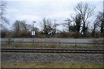 TQ0487 : Empty car park, Denham Station by N Chadwick