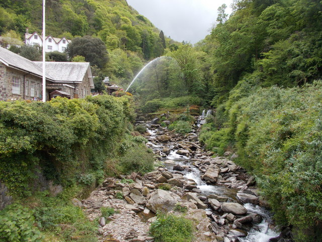 Glen Lyn Gorge - Lynmouth Hill