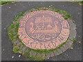 SJ4099 : Viking Mosaic at Millbrook Park by Eirian Evans