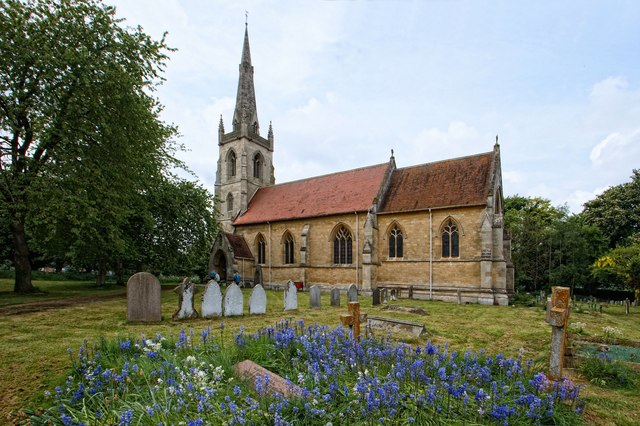 The Church of St Lawrence, Revesby
