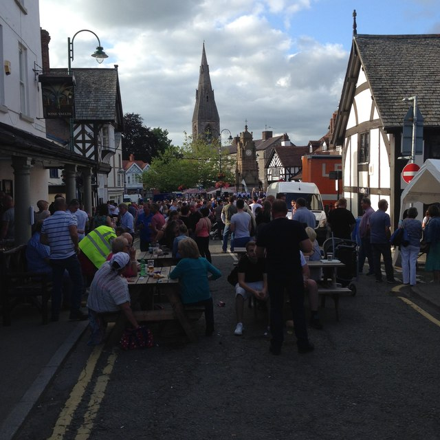 Festival Day in Ruthin